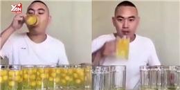 Tay Vlogger chơi lớn ngốn hết 100 quả trứng sống trong 1 phút