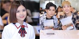 yan.vn - tin sao, ngôi sao - Suni Hạ Linh xinh như gái Hàn, rạng rỡ khi hội ngộ Monstar tại Hà Nội