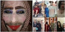Lính IS trang điểm, độn ngực để chạy trốn nhưng thất bại do quên cạo râu