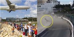 Hiếu kì xem máy bay cất cánh, nữ du khách bị thổi bay vào tường thiệt mạng