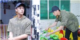 yan.vn - tin sao, ngôi sao - Rocker Nguyễn mặt mộc vẫn điển trai đi nấu cơm từ thiện