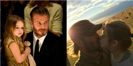 Chỉ vì hôn môi Harper, David Beckham bị 'ném đá' dữ dội