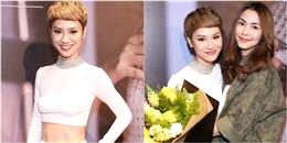 """yan.vn - tin sao, ngôi sao - Trà My Idol hờ hững """"eo con kiến"""" đẹp mướt mắt bên Tăng Thanh Hà"""