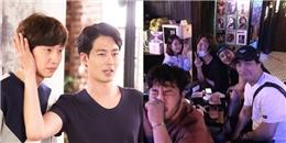 """'Chia tay' Song Joong Ki, Lee Kwang Soo diện áo đôi """"đánh lẻ"""" cùng Jo In Sung"""