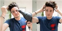 6 bước tạo kiểu tóc giúp bạn trở nên nam tính và quyến rũ hơn