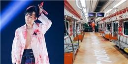 """yan.vn - tin sao, ngôi sao - Fan của G-Dragon """"chơi lớn"""" khi dành cho anh hẳn một toa tàu điện ngầm"""