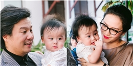 Thanh Bùi và vợ đại gia lần đầu tiên khoe cặp song sinh đáng yêu