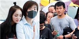 Lưu Khải Uy 'đội mưa đón con', Dương Mịch bị chỉ trích dù đang ốm nặng