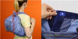 Những mẹo hay với quần jeans, nếu bạn không biết thì rất phí