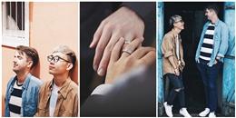 Chuyện tình đẹp như mơ của cặp đôi đồng tính Việt - Mỹ
