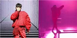 yan.vn - tin sao, ngôi sao - Diễn quá sung, G-Dragon bất ngờ ngã khỏi sân khấu khiến fan xót xa