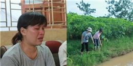 Hà Nội: Bé trai tử vong bất thường dưới rãnh nước vườn đu đủ
