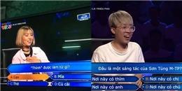 Cười 'sấp mặt' với những câu hỏi bá đạo nhất cuộc thi Ai là triệu phú