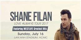 Chuyến lưu diễn thứ 2 của cựu thành viên Westlife – Shane Filan!
