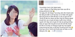 Chính thức điều tra người tung tin sờ ngực làm từ thiện ở Đà Nẵng