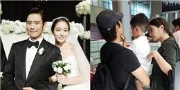 yan.vn - tin sao, ngôi sao - Mặc tình cũ Song Hye Kyo, Lee Byung Hun sang Đà Nẵng du hý cùng vợ con