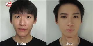 Xem clip này, liệu chị em còn say mê nhan sắc trai đẹp kiểu Hàn không?