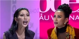 Sốc: Thí sinh VNTM 2017 lớn tiếng quát nạt giám khảo Hoàng Yến