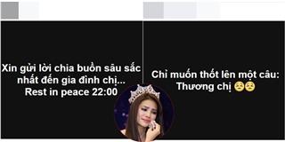 Fan khắp nơi khóc thương, gửi lời chia buồn đến gia đình Phạm Hương - Tin sao Viet - Tin tuc sao Viet - Scandal sao Viet - Tin tuc cua Sao - Tin cua Sao