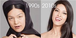 Quá bất ngờ với sự thay đổi nhan sắc của phụ nữ Việt trong 100 năm qua