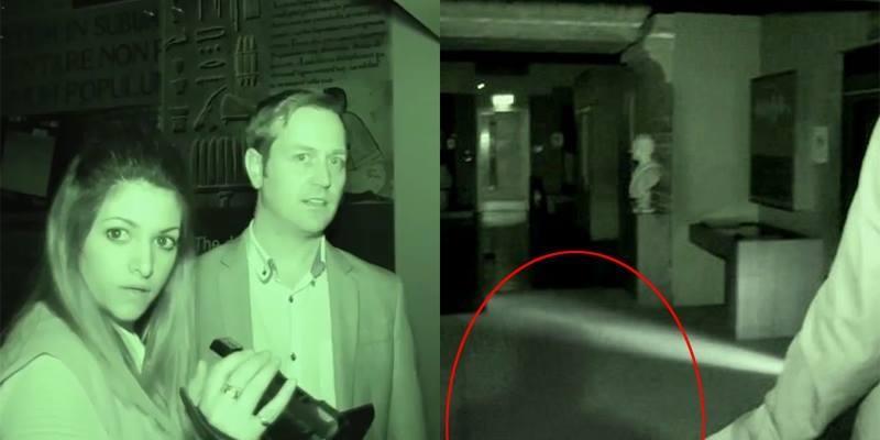 2 vợ chồng nhà ngoại cảm chạm mặt bóng đen bí ẩn trong khu hầm mộ