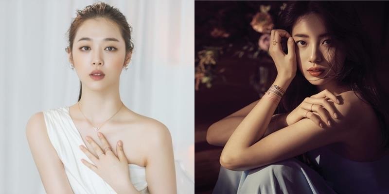"""Xinh đẹp và tài năng, Sulli - Suzy ai mới là """"ngọc nữ"""" xứ Hàn?"""