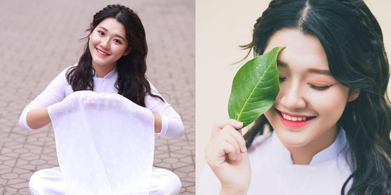 Vẻ xinh đẹp của nữ sinh xứ Nghệ đạt 9,75 điểm Văn được tuyển thẳng ĐH