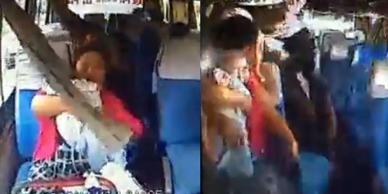 Xe gặp nạn hất văng hành khách, người mẹ sống chết ôm chặt bảo vệ con