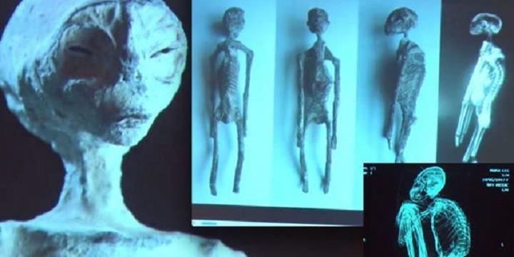 Có thật là ''Đã tìm thấy xác ướp người ngoài hành tinh''?