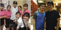 'Vi vu' Đà Nẵng Trần Hạo Dân thân thiện chụp ảnh, đá bóng giao lưu cùng fan Việt
