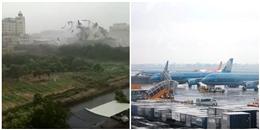 Hàng trăm chuyến bay bị hủy, lùi lịch đến Trung Quốc do bão Hato