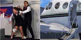 Chuyện gì sẽ xảy ra nếu mở cửa máy bay lúc đang bay?