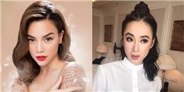 Phương Trinh, Hồ Ngọc Hà, Lilly Nguyễn dẫn đầu xu hướng mốt lông mày sợi