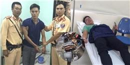 Vừa mất xe vừa bị sốt xuất huyết, chàng trai bất ngờ khi được CSGT 'hỏi thăm'