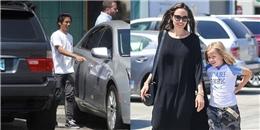 'Ra dáng chuẩn men' Pax Thiên vẫn bị chê lùn, gái út nhà Jolie ngày càng tomboy