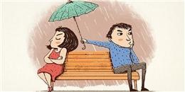 Đây là những dấu hiệu chứng tỏ bạn đã yêu phải một chàng... chưa lớn hết