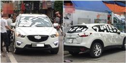 Hà Nội: Choáng với xe ô tô bị 'băng bó' bằng trăm chiếc... băng 'chị em'