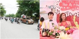 Cô dâu chuyển giới lên xe hoa, thu hút hàng nghìn người theo dõi