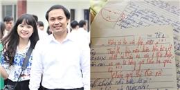 Thầy giáo trẻ ĐH Vinh và loạt lời phê bá đạo: 'Nhan sắc tỷ lệ nghịch với chữ viết'