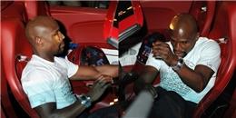 Mayweather lái siêu xe, mừng chiến thắng ở CLB thoát y