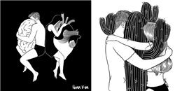 Bộ tranh: Tình yêu là thế, không phải cứ tìm thấy nhau là sẽ được ở bên nhau