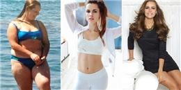 Từ một cô nàng béo ú, nữ blogger này đã giảm 53 ký để trở nên nóng bỏng vô cùng