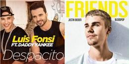"""Hit mới của Justin Bieber bị Despacito """"đè bẹp"""" sau 2 ngày xưng vương"""