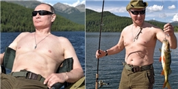 Tổng thống Nga Putin tận hưởng mùa hè theo cách đến bạn còn phải ghen tị