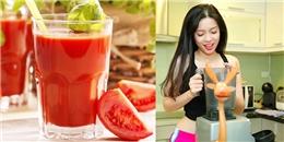 6 công thức nước ép giảm cân để bạn