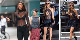 Dàn siêu mẫu nội y bận rộn thử đồ cho Victoria's Secret