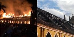Nam Định: Nhà thờ cổ 130 tuổi biến thành tro chỉ trong 1 đêm