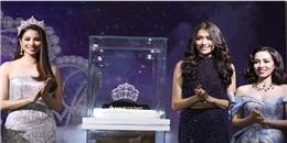 Ngắm tận mắt chiếc vương miện 2,7 tỉ đồng của Hoa hậu Hoàn vũ Việt Nam 2017