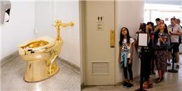 Trăm nghìn người xếp hàng để giành cơ hội 'trút bầu tâm sự' với toilet bằng vàng
