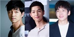 Vượt loạt sao nam hạng A, Song Joong Ki tiếp tục 'xưng vương' trên mọi BXH